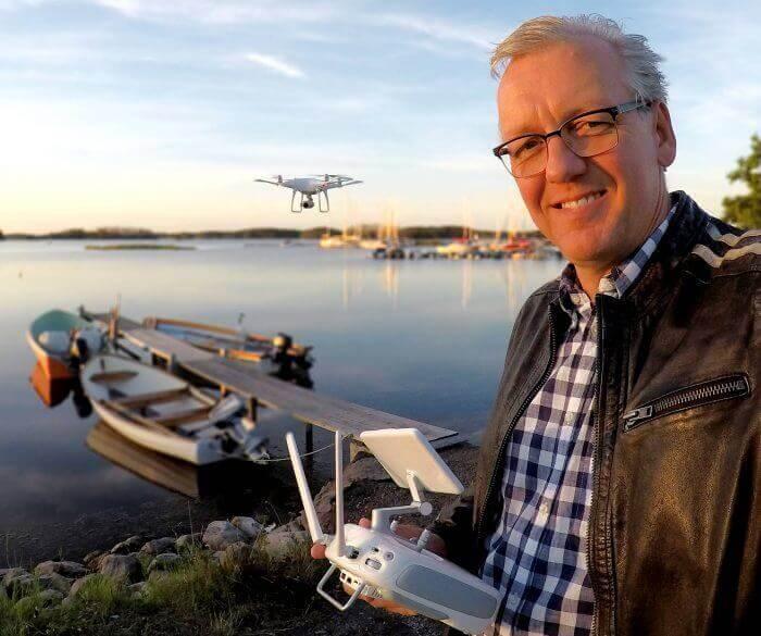 Drönarfoto och drönarfilm i södra Sverige