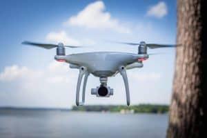 Novitell flygfotograferar med drönare