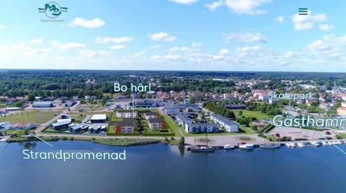 Novitell utvecklade en kampanjsida med filmproduktion för Mönsterås Bostäder.