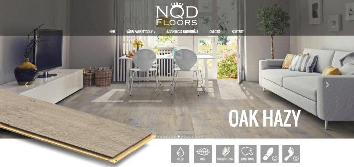 Novitell utvecklade tre avancerade webbplatser till NQD.
